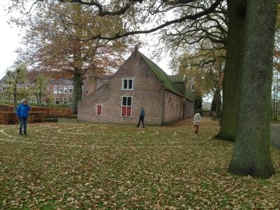 Afsluiting van een week floreren voor pelgrims in Huijbergen